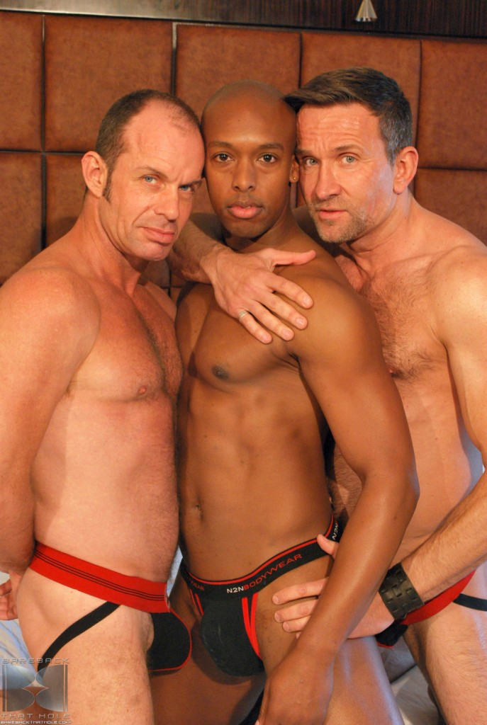 17_2-687x1024 White Daddies Matt Sizemore And Bill Marlowe Spit-Roast Jack Panther's Sweet Black Holes