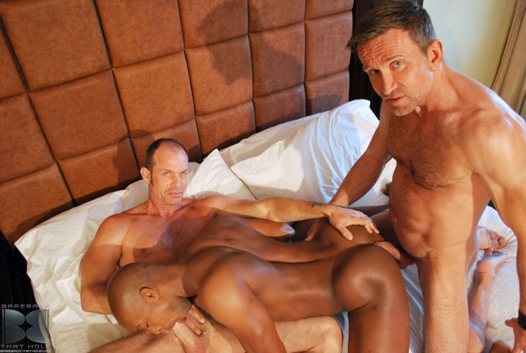 17 35 1024x687 White Daddies Matt Sizemore And Bill Marlowe Spit Roast Jack Panther's Sweet Black Holes