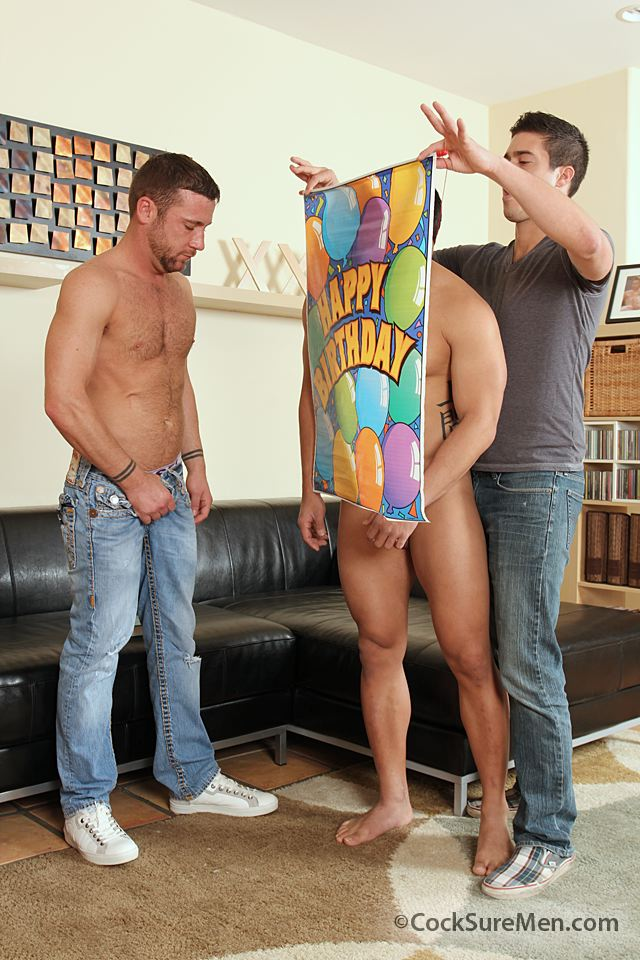 3 Trevor Knight, Mike Martinez & Spencer Williams in a Steamy Threeway