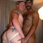 30 56 150x150 Blond Redneck Gets Fucked Bareback and Seeded by Interracial Sex Pig Breeder