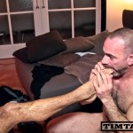 Otelo Priam 91 150x150 Straight Amateur Hairy Ass Guy with Massive Uncut Cock Auditions and Shoots His Cum