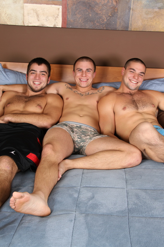chaosmen darius eli solomon hires 02 Darius & Eli & Solomon Hot Three Way Tag Team Fucking Raw