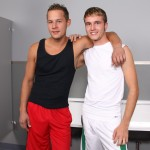 chaosmen isaiah tyler hires 02 150x150 Isaiah and Tyler in a Hot Glory Hole and Hot Bareback Bathroom Fuck Session
