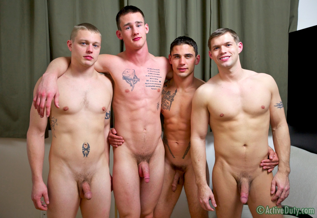 foursome-20 Hot Four-Some Axl, Bric, Chaz & Kaden