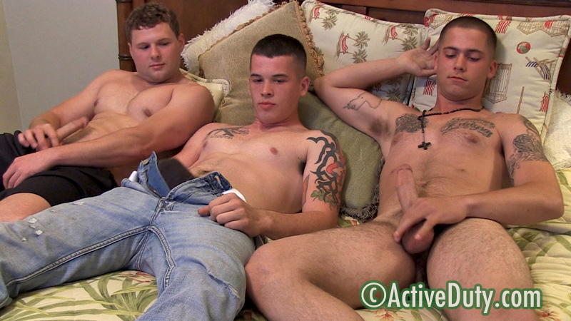 011 Carson, Dixon and Gamble Three Way Military Fuck