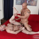 132-150x150 Hairy Bald Headed Studs Wrestle and Fuck