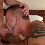 17 20 150x150 Tattooed Colin Steele and Huge Cock Muscle Bear Lee Denim Fuck Raw