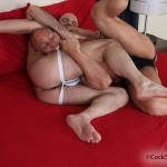 3-150x150 Hairy Bald Headed Studs Wrestle and Fuck