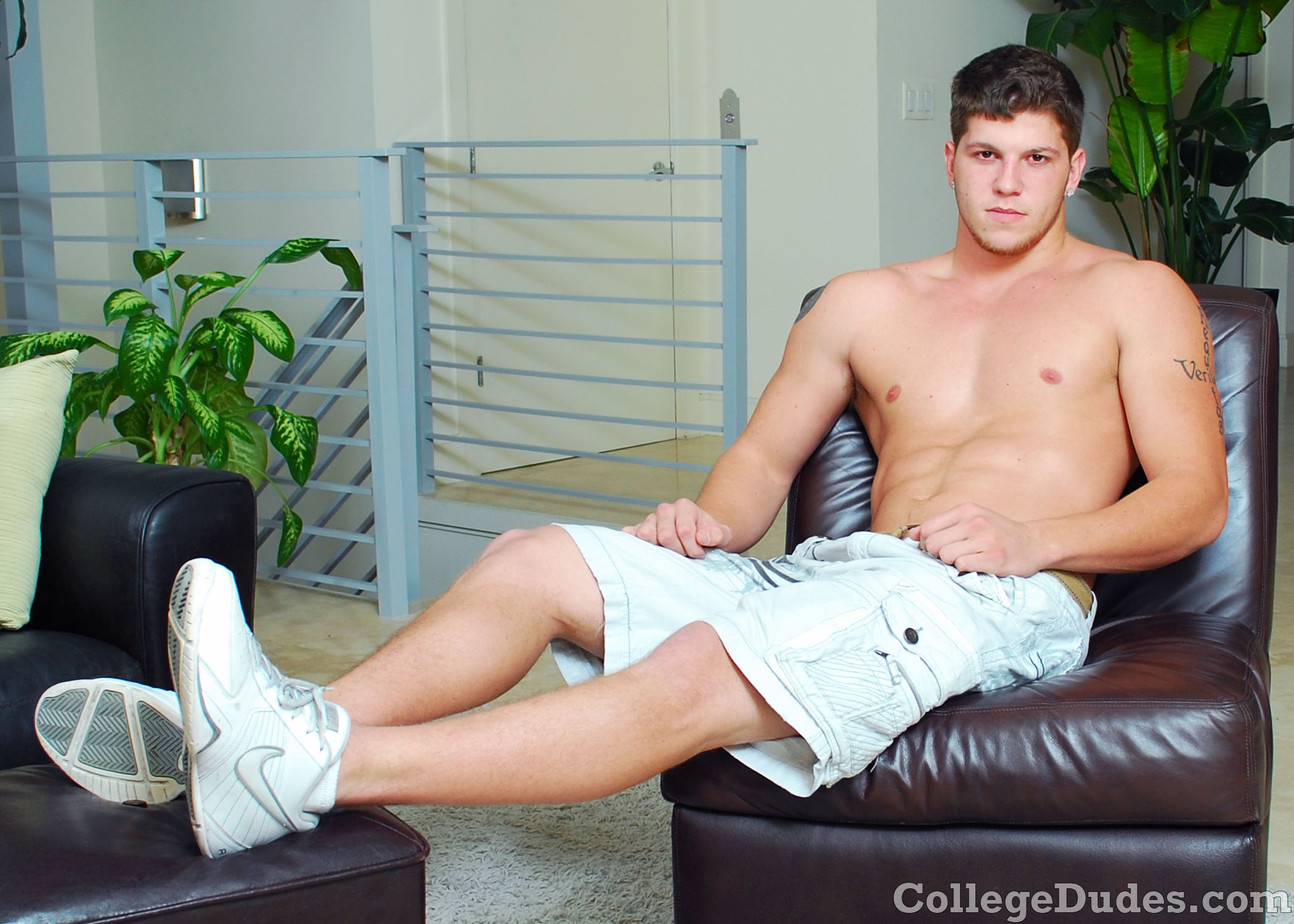 College stud busting his nice nuts