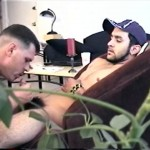 10 150x150 Straight Guy Shoots A Load with Another Guy