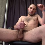 FirstAuditions  Mark Straight Hairy Jackoff Hot Ass Uncut cock 0114 150x150 Straight Amateur Hairy Ass Guy with Massive Uncut Cock Auditions and Shoots His Cum