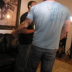 NewYork Straight Men Rocco and Trey Amateur Straight Guy Gets First Blowjob DSCN5062 150x150 Straight NYC Bouncer Gets His Cocked Sucked By A Guy For the First Time