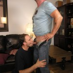 NewYork Straight Men Rocco and Trey Amateur Straight Guy Gets First Blowjob DSCN5078 150x150 Straight NYC Bouncer Gets His Cocked Sucked By A Guy For the First Time