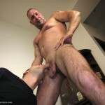 NewYork Straight Men Rocco and Trey Amateur Straight Guy Gets First Blowjob DSCN5095 150x150 Straight NYC Bouncer Gets His Cocked Sucked By A Guy For the First Time