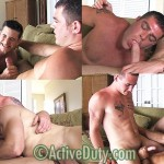 anal threesome gay 150x150 Real Military Members Fuck: Axl, Dallas & Thomas Fuck