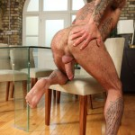 Butch Dixon Seth Wilkins Hairy Muscle Daddy IMG 8268 150x150 Bisexual Hairy, Tattooed Daddy Shows His Hairy Ass and Cock