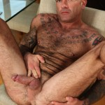Butch Dixon Seth Wilkins Hairy Muscle Daddy IMG 8297 150x150 Bisexual Hairy, Tattooed Daddy Shows His Hairy Ass and Cock