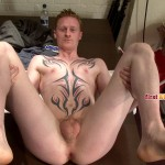 First Auditions Dan Straight uncut cock jackoff 0057 150x150 Straight Redhead Shows His Ass and Jacks Off