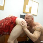 Parole Him Officer Thompson fucks Anthony Mose bareback uncut amateur cock 08 150x150 Hidden Cam: Parole Officer Bareback Fucks his Parolee