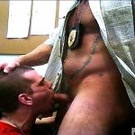 Parole Him Officer Thompson fucks Anthony Mose bareback uncut amateur cock 31 150x150 Hidden Cam: Parole Officer Bareback Fucks his Parolee