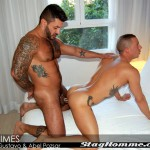 Stag Homme Abel Pozsar and Carlos Gustavo Fucking 18 150x150 Tattooed Brazilian Stud Fucks Abel Pozsar Hard