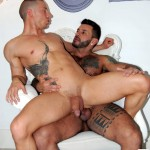 Stag Homme Abel Pozsar and Carlos Gustavo Fucking 25 150x150 Tattooed Brazilian Stud Fucks Abel Pozsar Hard