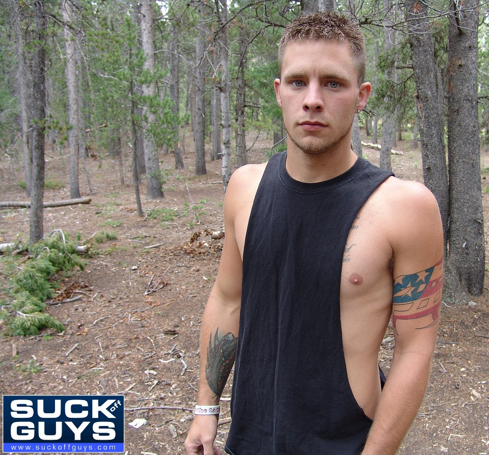 SuckOffGuys Walker Michaels Cum Shot Oral Facials Hairy Ass SOG Best of Walker Michaels Oral HiRes 004 Amateur Redneck Straight Guy Gets Sucked Off in the Woods