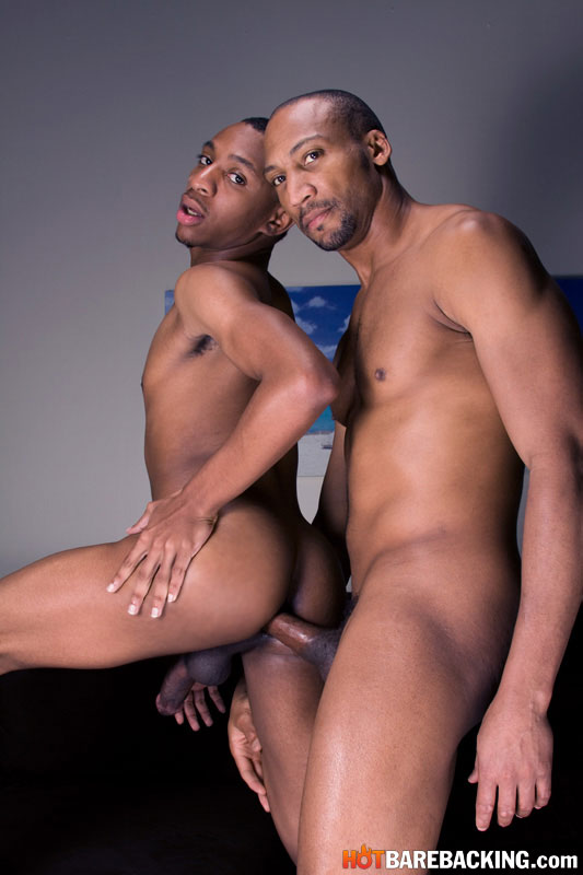 Buster-Sly-Troy-Black-Bareback-Big-Black-Cock-09 Hot Black Daddy Barebacks 18 Year Old Black Stud