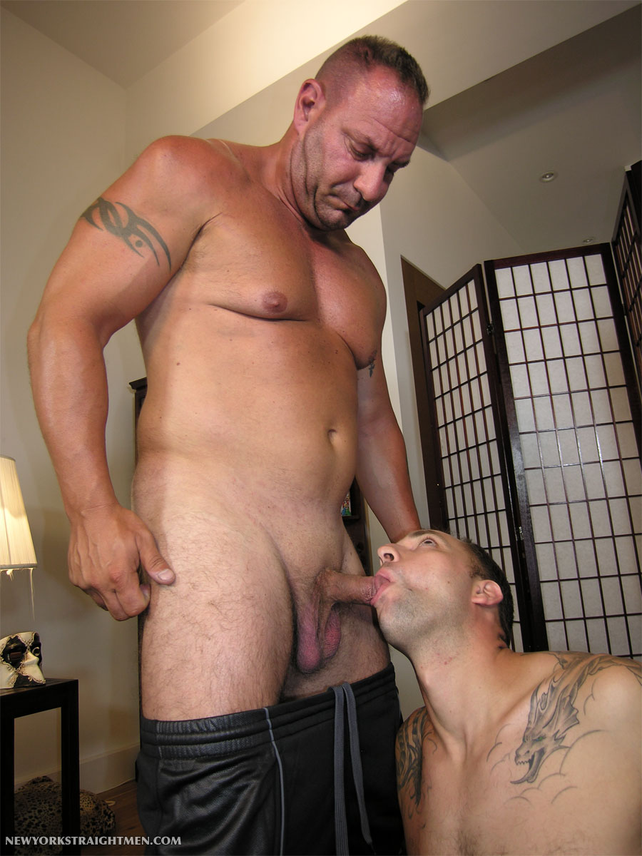 NewYorkStraightMen Rocco and Magnus torrent 04 Two Straight Chubby Muscle Daddies Get Their Cocks Serviced