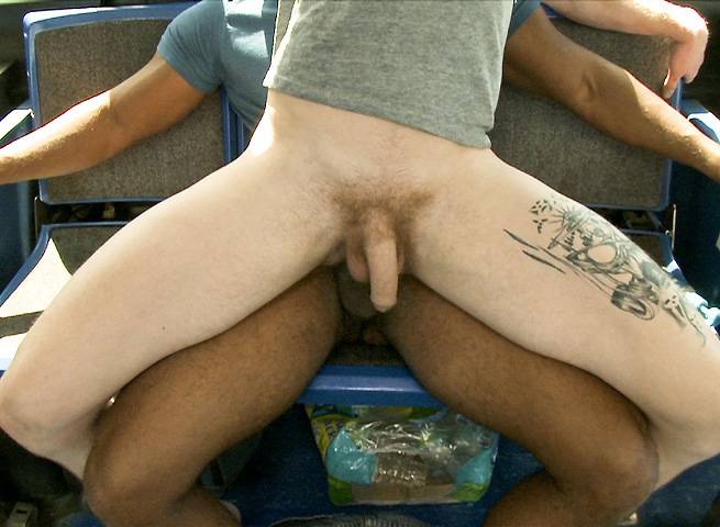Project City Bus Interracial Sex on a Bus Black Cock 09 Interracial Amatuer Butt Fucking on a City Bus
