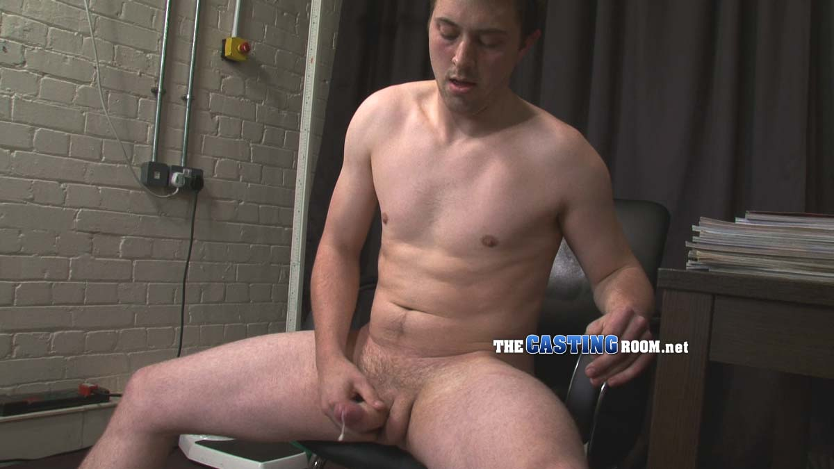 TheCastingRoom-Ben-uncut-masturbation-torrent-12 Big Uncut Cock Shoots Cum at a Porn Audition