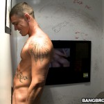 Ungloryhole Straight Jock Gets Cock Sucked 09 150x150 Straight Amateur Muscle Guy Gets Tricked at the Gloryhole
