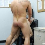parolehim anthony mose benny charge torrent bareback 16 150x150 Parole Officer Forces Two Young Amateur Parolees to Fuck in His Office