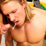 Bareback Casting Cock in Bodybuilder Ass 12 150x150 Huge Amateur Uncut Cock Bareback in Straight Bodybuilders Ass