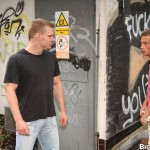 Out In Public Jose Manuel muscle bareback 01 150x150 Amateur Muscle Stud Fucks A Hot Ass Bareback in Public and Eats his Cum