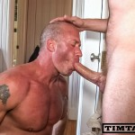 TimTales-Tim-and-Eric-Norris-big-cock-fucking-01-150x150 Amateur Muscle Daddy Gets a Huge Cock and Cum Facial
