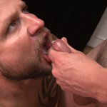 TimSuck Milan Steel and Sean Parker cum eating 7 150x150 Amateur Sexy Bearcub Sucks Cock and Eats a Load of Cum