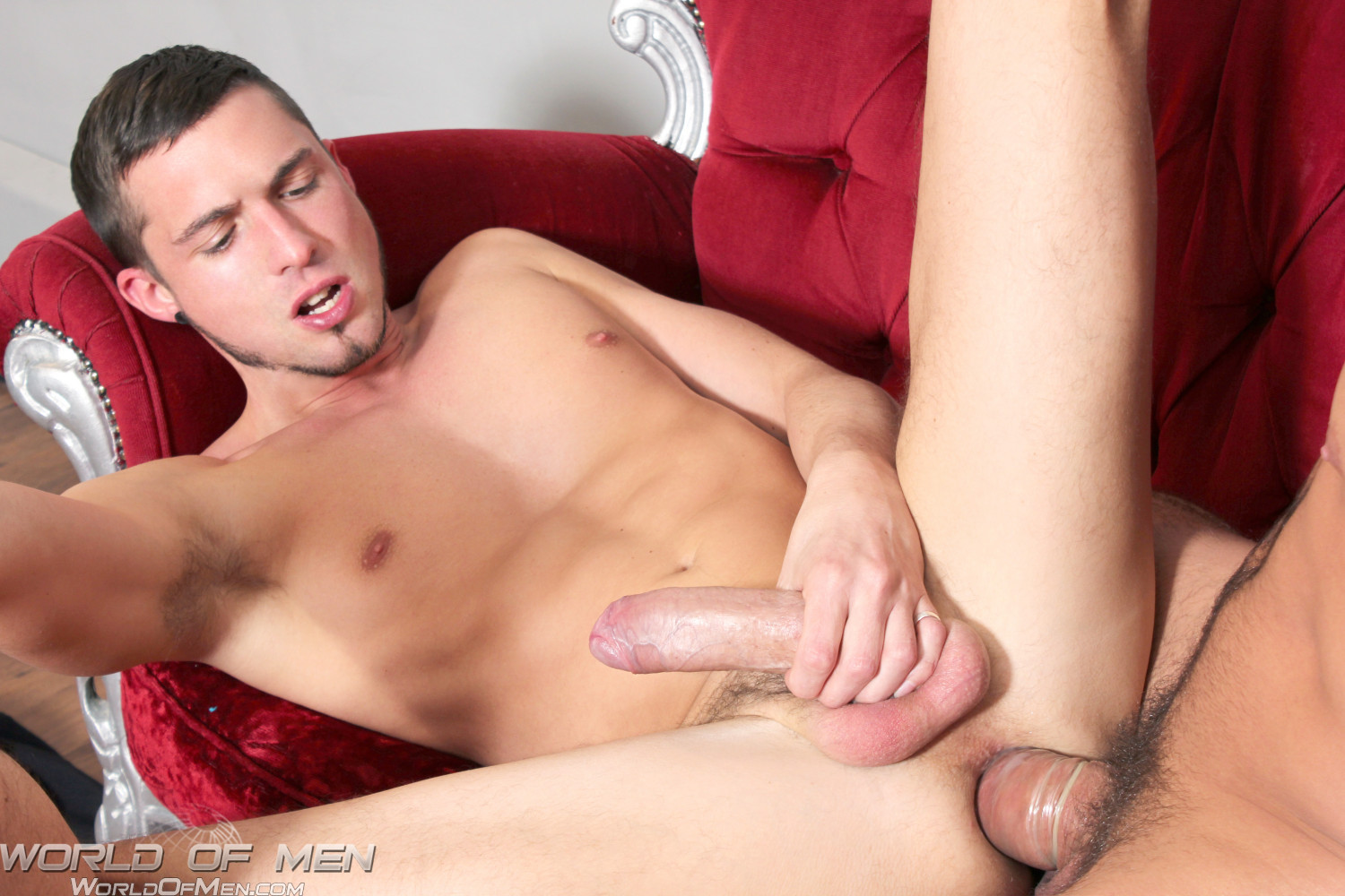 World of Men Dominic Pacifico and Sam Barclay 07 Massively Thick Uncut Amateur Cocks Fucking and Cumming