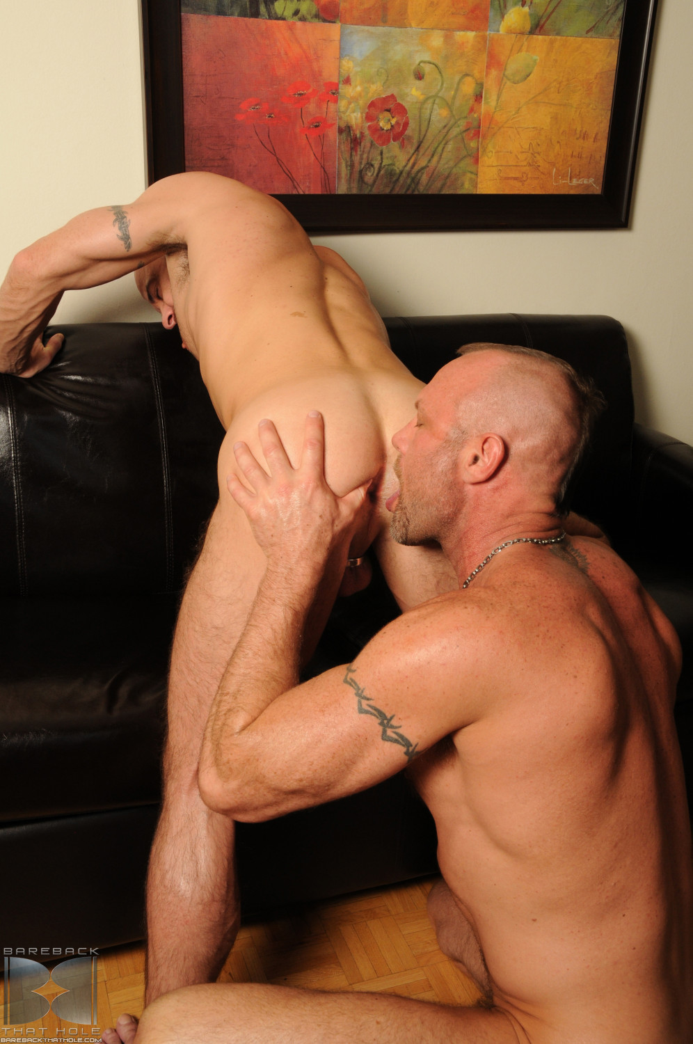 Bareback-That-Hole-Chad-Brock-and-Ben-Statham-big-uncut-cock-10 Bareback Fucking A Hot Hairy Uncut Bottom