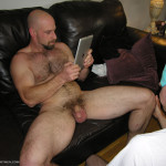 New York Straight Men Derick hairy muscle rimmed 09 150x150 NYC Straight Construction Worker Gets His Ass Rimmed And Cock Sucked