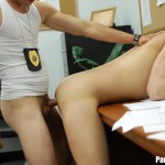 Parole Him Rafeal Mendoza bareback force fucking 04 150x150 Parole Officer Intimidates and Barebacks a Young Latino Parolee