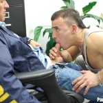 Parole Him Rafeal Mendoza bareback force fucking 15 150x150 Parole Officer Intimidates and Barebacks a Young Latino Parolee