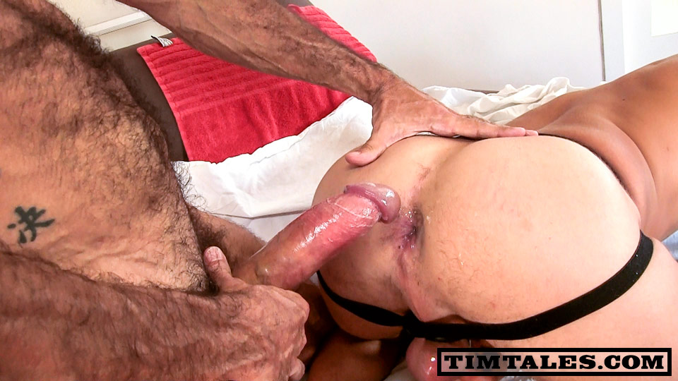 TimTales-Lito-Cruz-and-Alessandro-bareback-fucking-12 Lito Cruz Barebacks a Hot Young Amatuer Stud With His Huge Uncut Cock