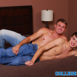 collegedudes hunter page fucks dennis slade 05 150x150 Amateur Hot College Twink Takes His First Big Cock Up His Ass