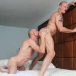 Bareback That Hole Parker and Mason Garet Muscle Daddy Barebacking 09 150x150 Amateur Muscle Daddy Fucks His Buddy Bareback With His Big Cock