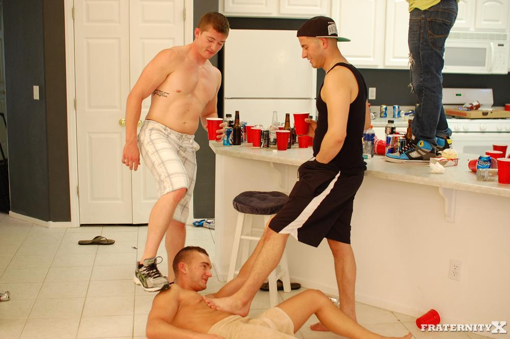 FraternityX Fraternity Brothers Hazing Pledge Bareback Fucking and Cock Sucking Thick Cocks 03 Real Fraternity Boys With Thick Cocks Haze A Pledge and Bareback Him