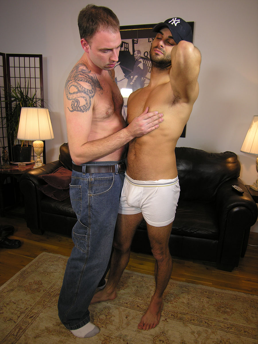 New-York-Straight-Men-Ryder-Straight-Middle-Eastern-Gets-His-Cock-Sucked-Hairy-Muscle-Cock-03 Hairy Straight Middle Eastern Guy Gets A Blowjob From A Gay Guy