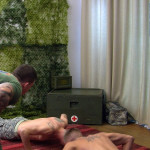 All American Heroes Sergeant Slate Triple fucking big cocks Army guys Amateur Gay Porn 02 150x150 Two Real Army Privates Fuck Their Muscle Sergeant and Cum In His Mouth