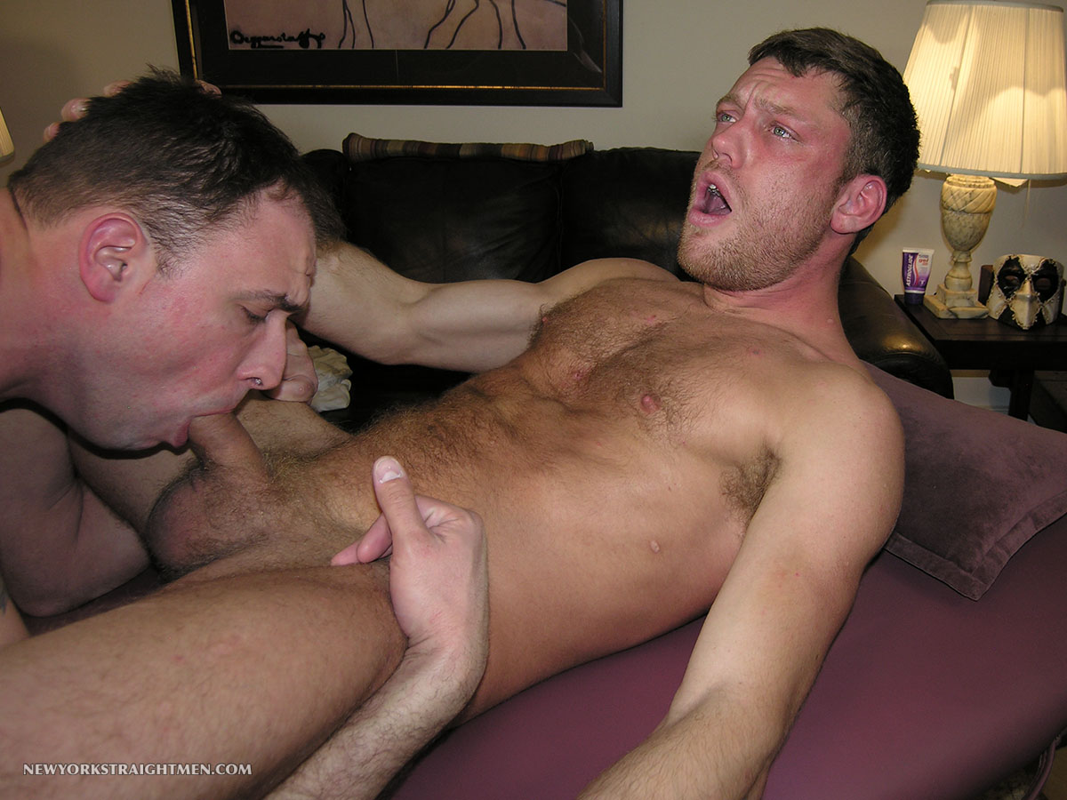 image Gay amateur gets a straight guys facial