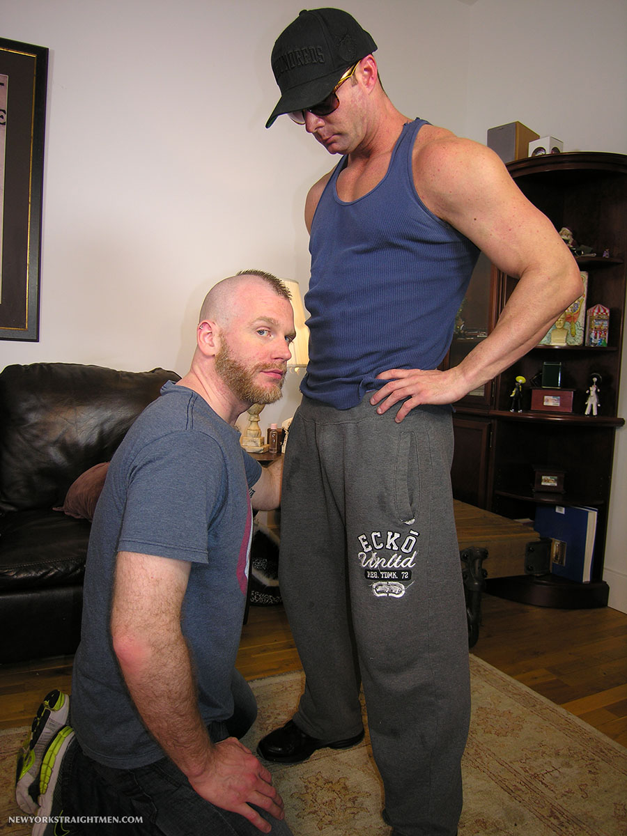 New York Straight Men Officer T and Sean Straight Guy Getting Cock Sucked By A Gay Guy Amateur Gay Porn 01 Straight Guy Auditions to do Gay Porn for Cash